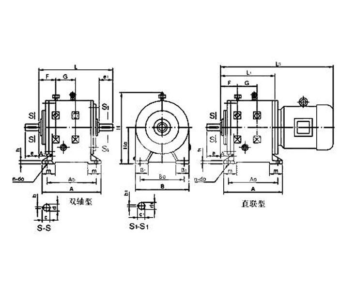 LCW系列卧式齿轮减速机
