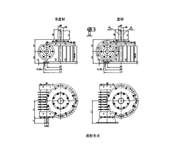 WHC系列圓柱蝸桿減速機