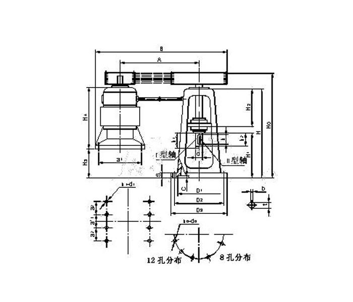 YPV系列a型大功率皮帶減速機