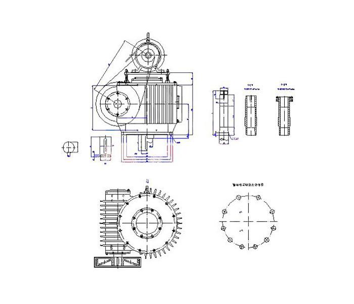 QW系列蝸桿減速機